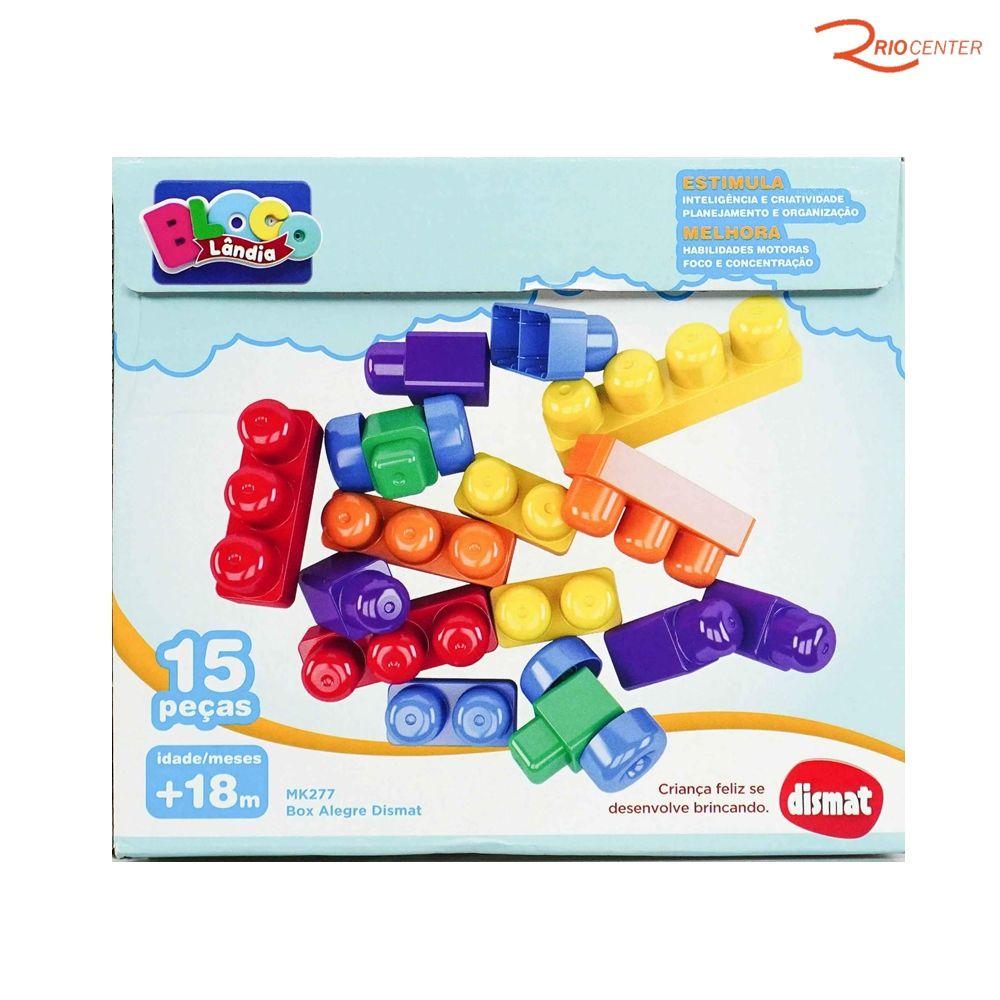 Brinquedo Dismat Box Alegre +18m