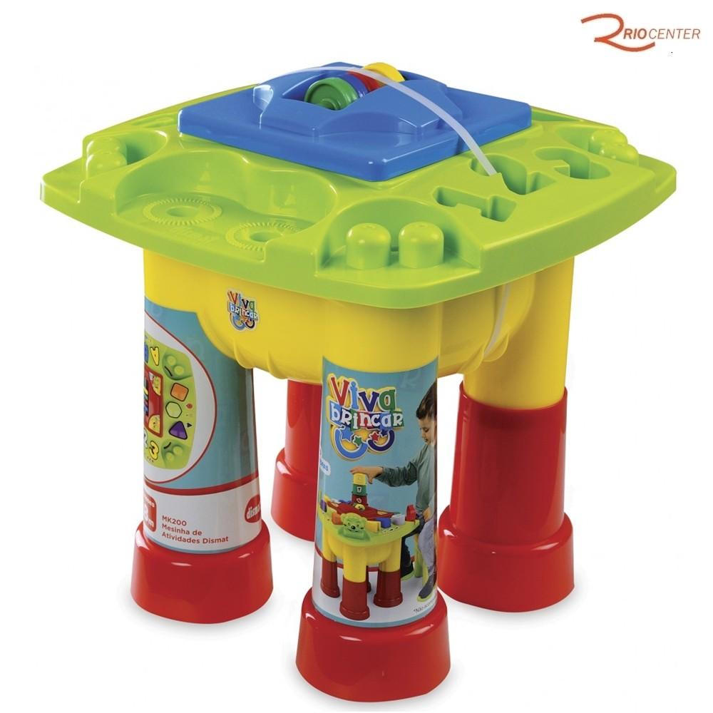 Brinquedo Dismat Mesinha de Atividades +18m