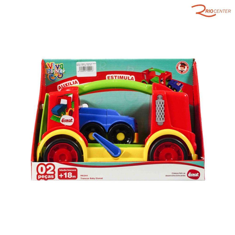 Brinquedo Dismat Transcar Baby Mk244 +18m