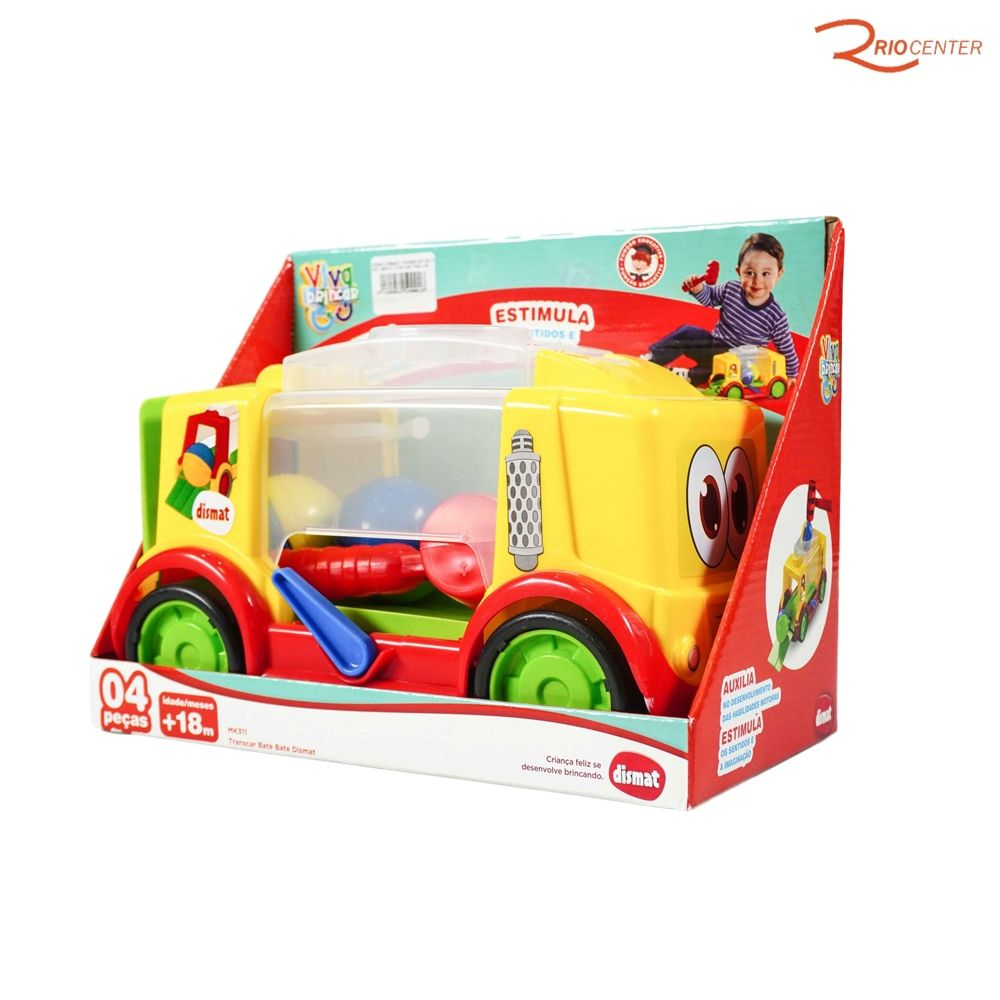 Brinquedo Dismat Transcar Bate Bate Mk311 +18m