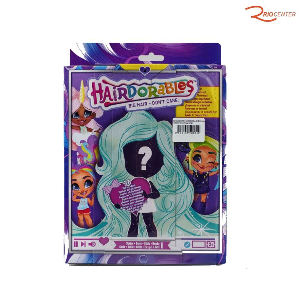 Brinquedo Dtc Hairdorables Big Hair +3a