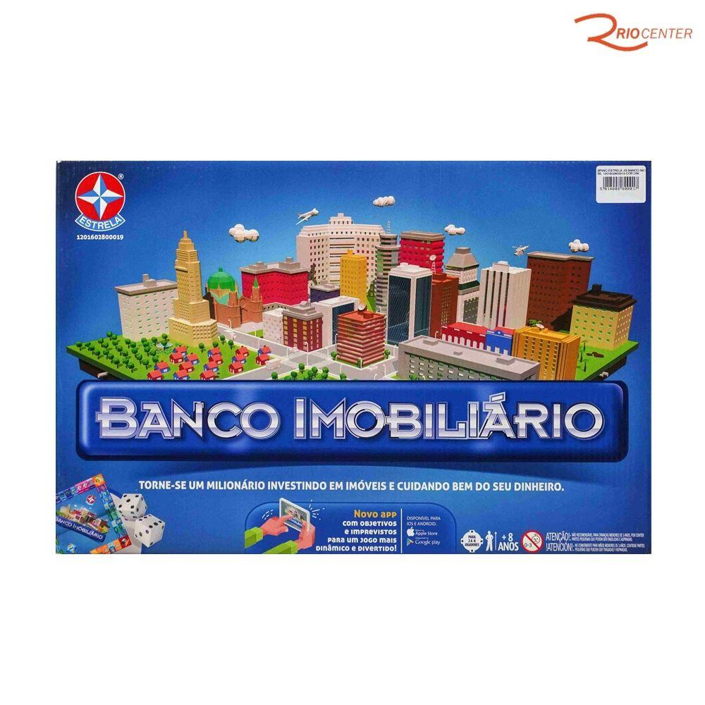 Brinquedo Estrela Jogo Banco Imobiliário +8a