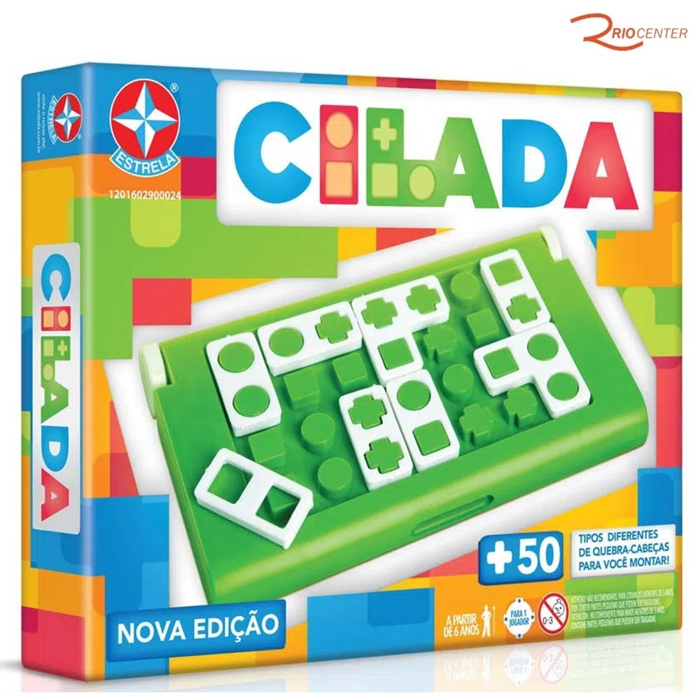 Brinquedo Estrela Jogo Cilada +6a