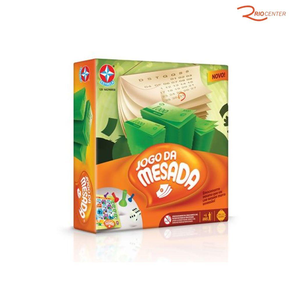 Brinquedo Estrela Jogo Da Mesada +6a