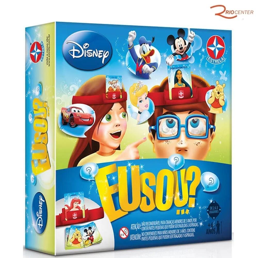 Brinquedo Estrela Jogo Eu Sou? Disney +3a