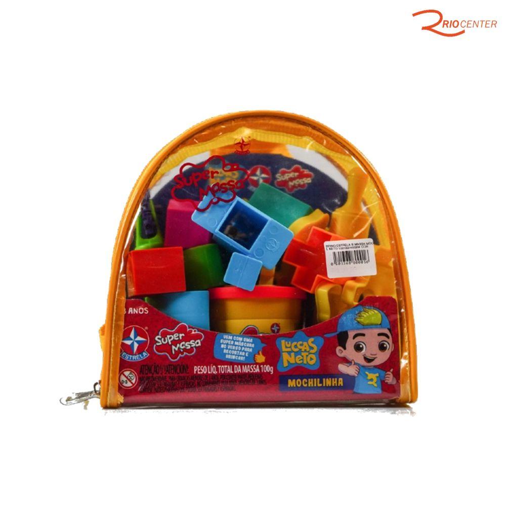 Brinquedo Estrela Mochilinha Luccas Neto +3a