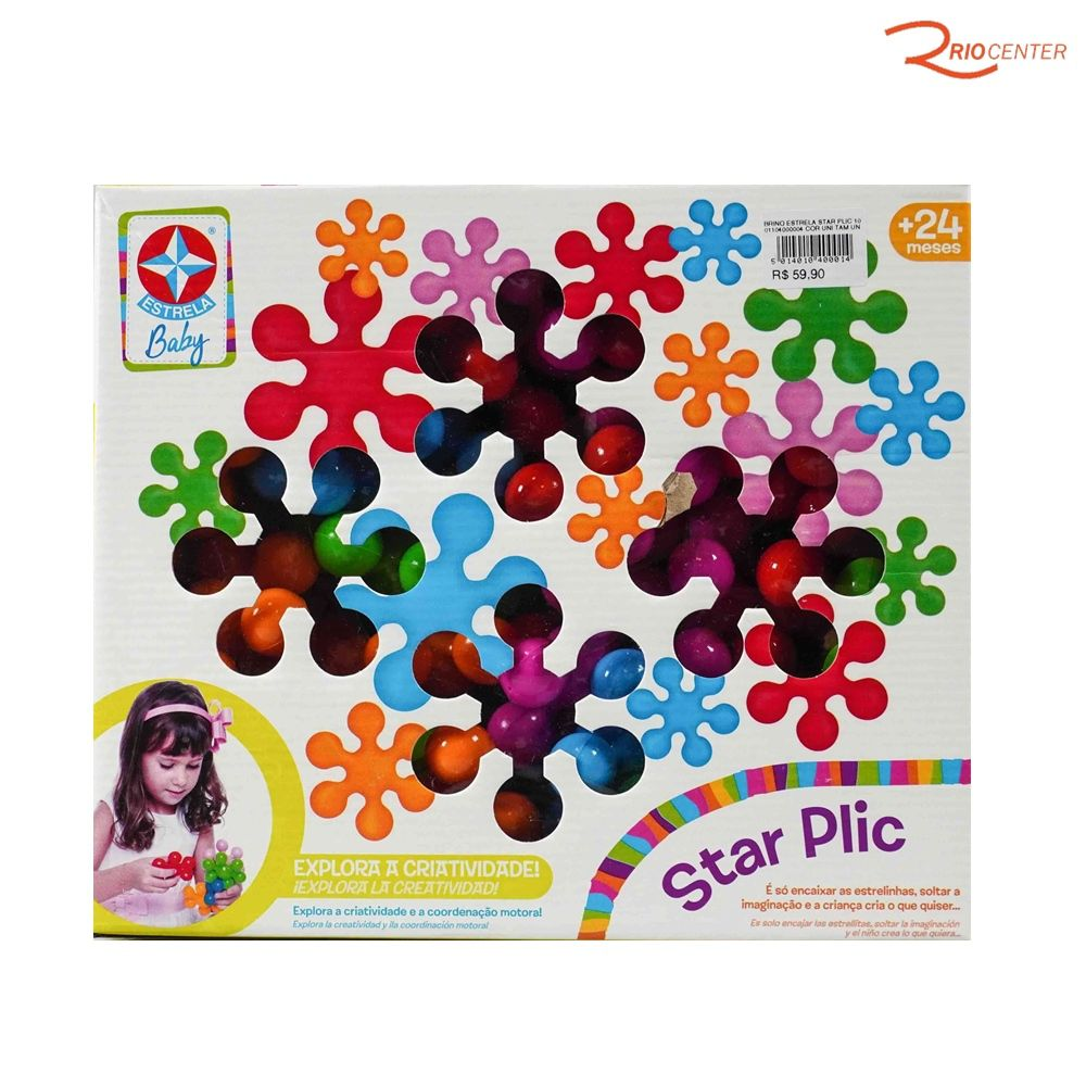 Brinquedo Estrela Star Plic +2a