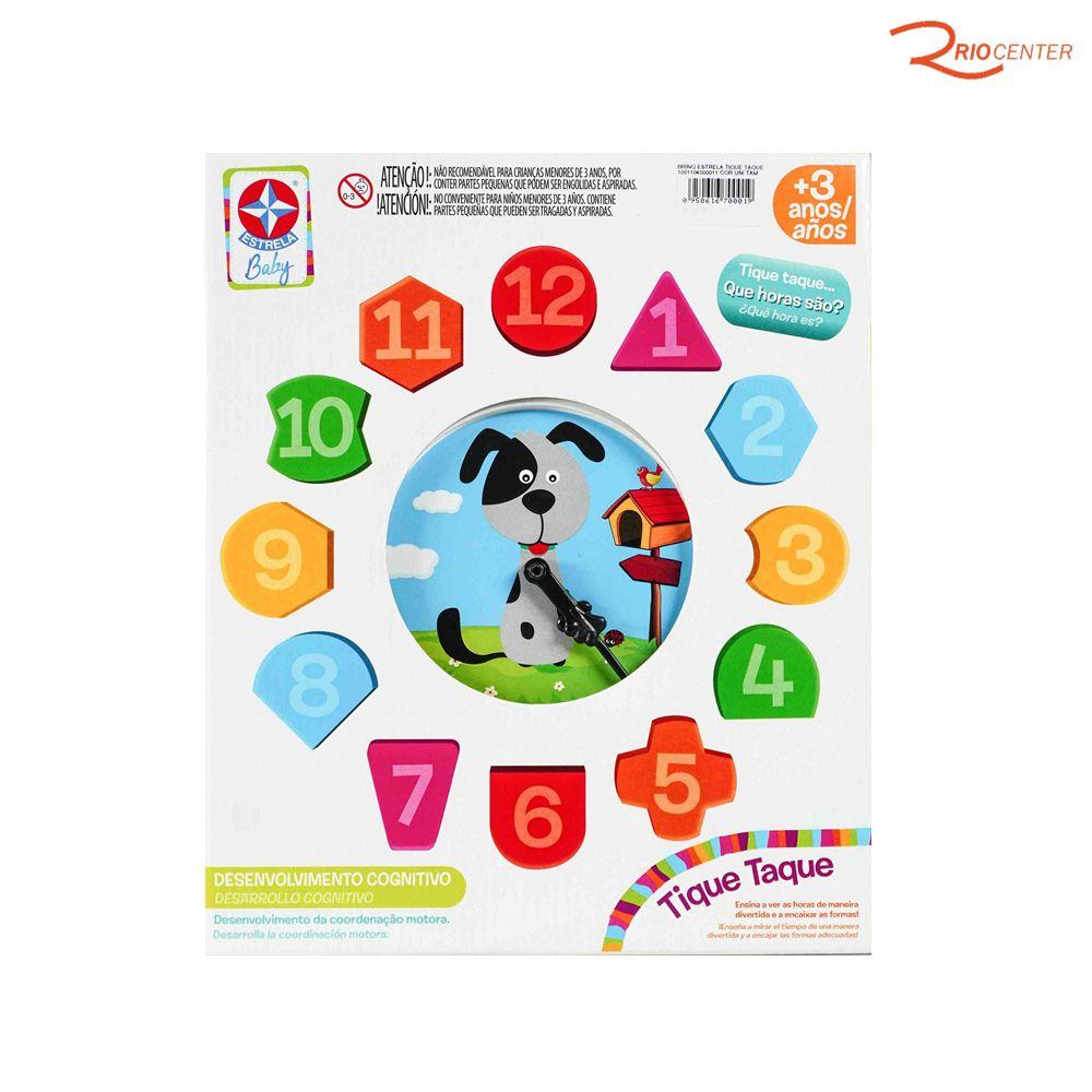 Brinquedo Estrela Tique Taque +3a