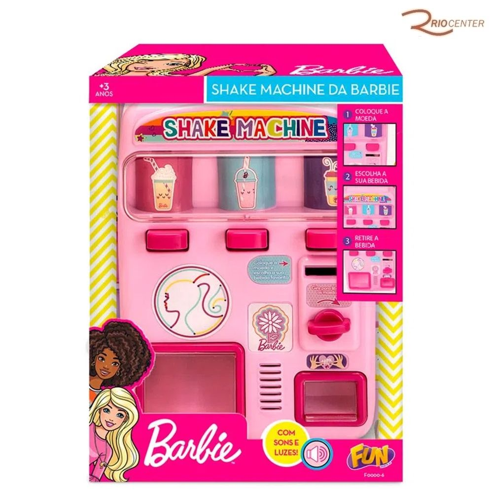 Brinquedo Fun Barbie Shake Machine +3a