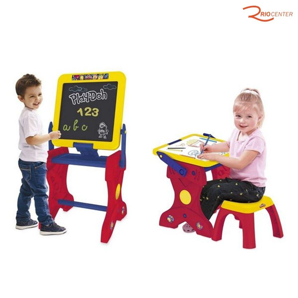 Brinquedo Fun Playdoh Estúdio De Arte +3a