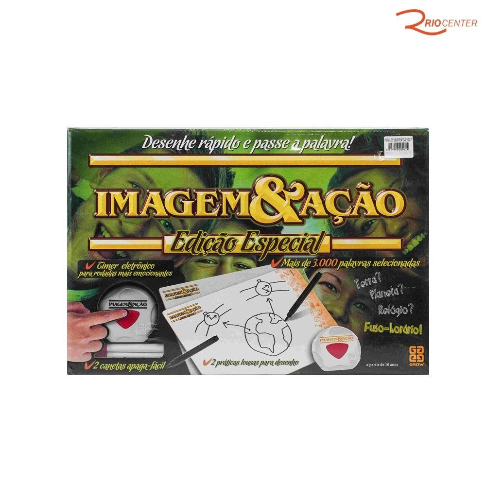 Brinquedo Grow Imagem & Ação Ed. Especial + 10a