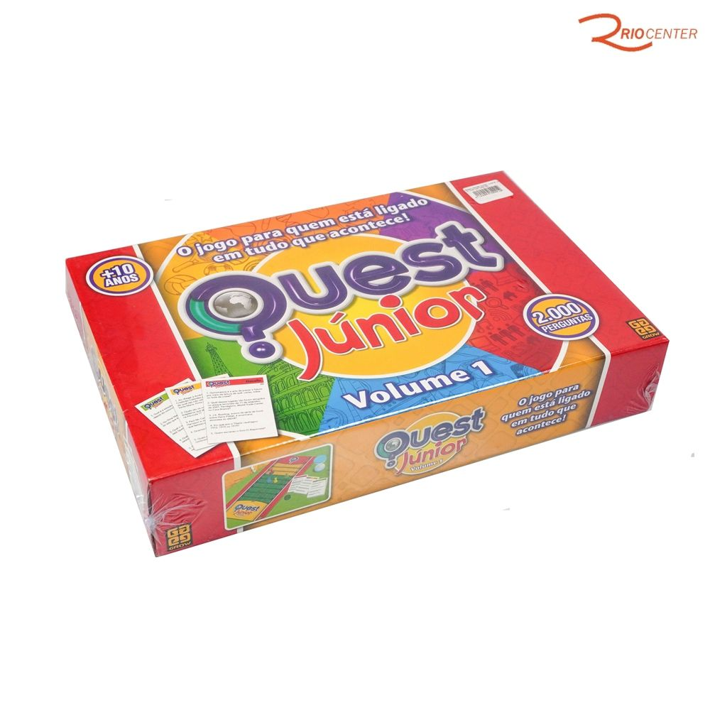 Brinquedo Grow Quest Junior - Volume 1 +10a