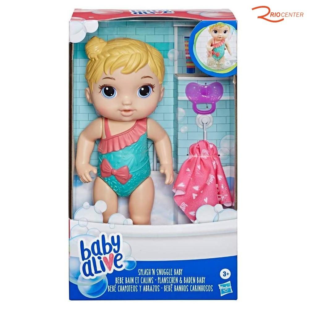 Brinquedo Hasbro Baby Alive Bebê Carinhosos Loira +3a