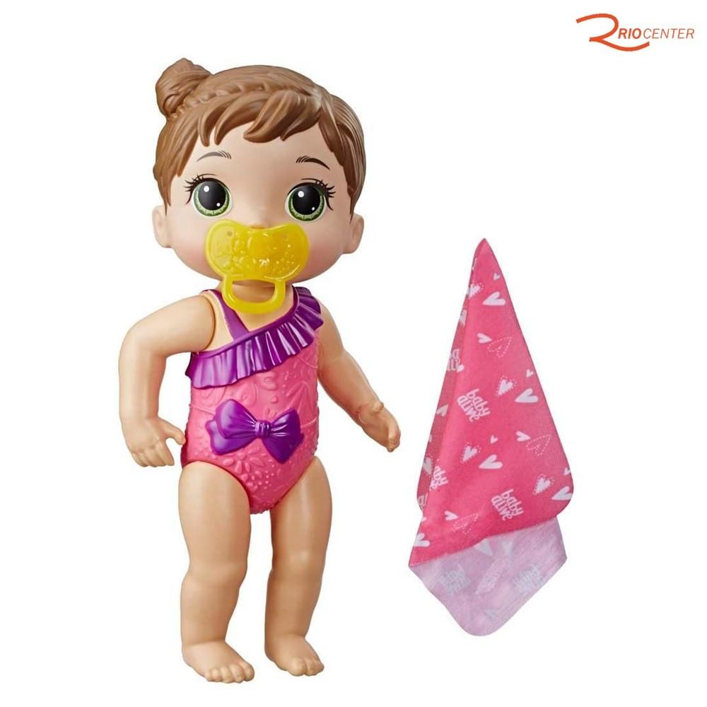 Brinquedo Hasbro Baby Alive Bebê Carinhosos Morena +3a