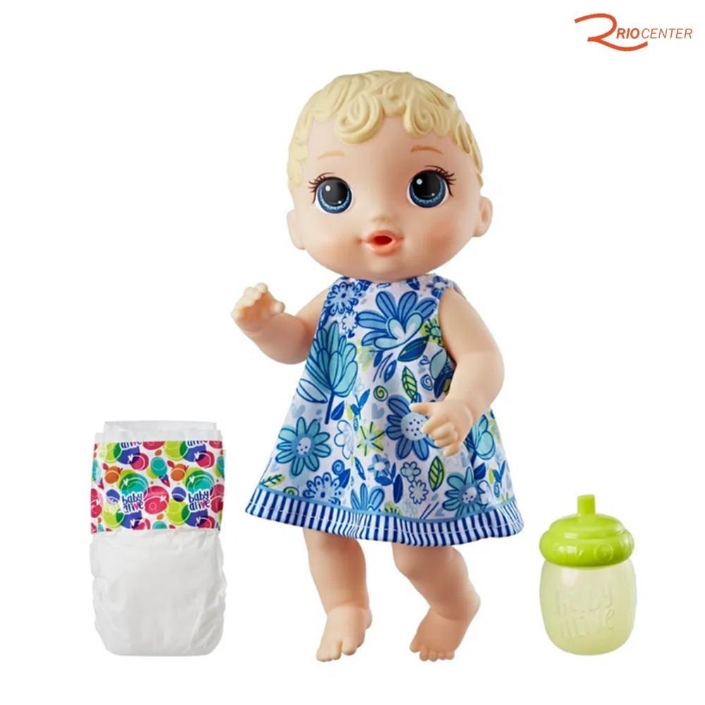 Brinquedo Hasbro Baby Alive Hora do Xixi Loira + 3a