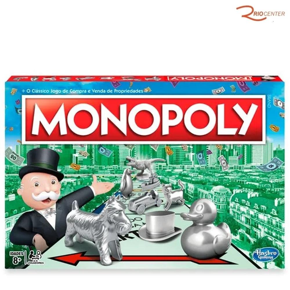 Jogo Monopoly Clássico Hasbro +8a