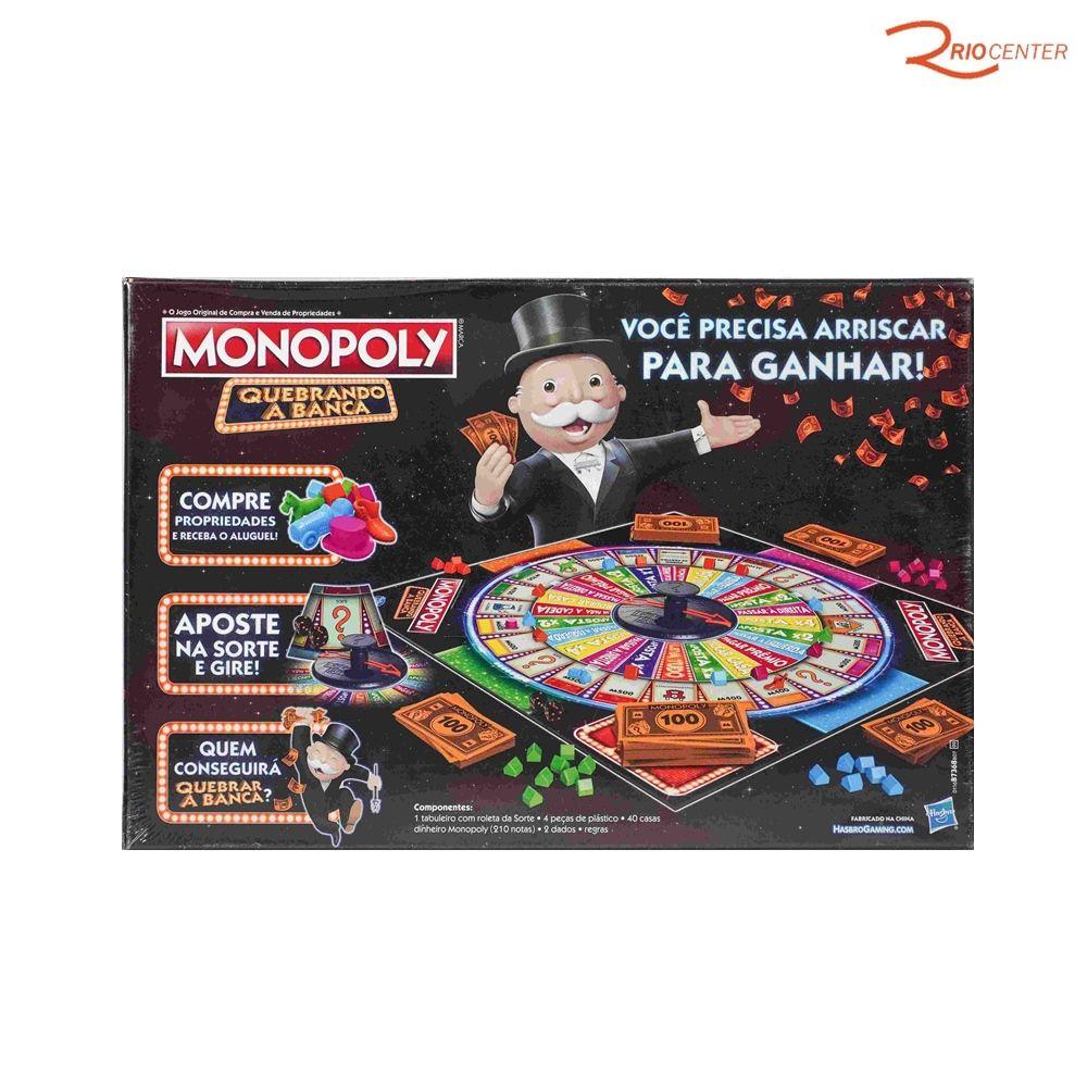 Monopoly Quebrando A Banca Hasbro +8a