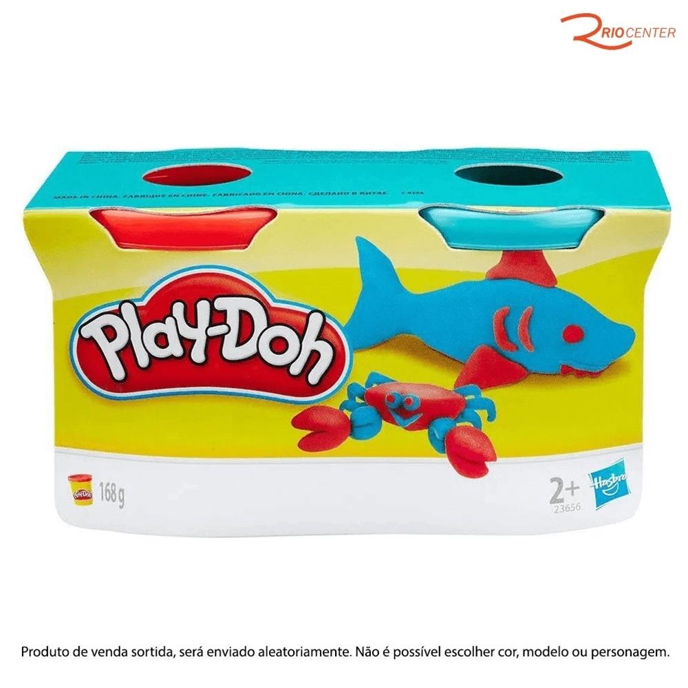 Brinquedo Hasbro Play-Doh Massa 2 Potes +3a