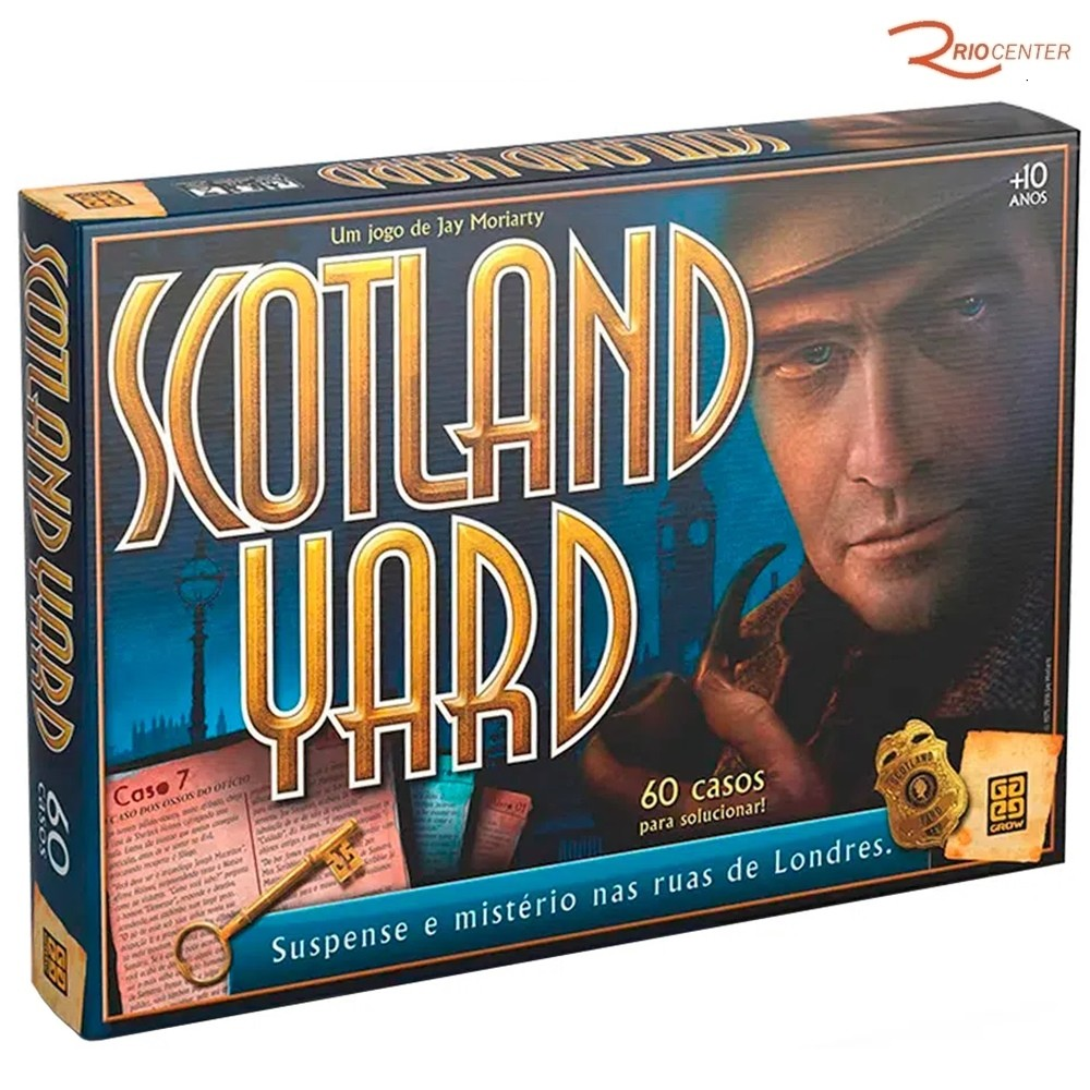 Brinquedo Jogo Grow Scotland Yard +10a