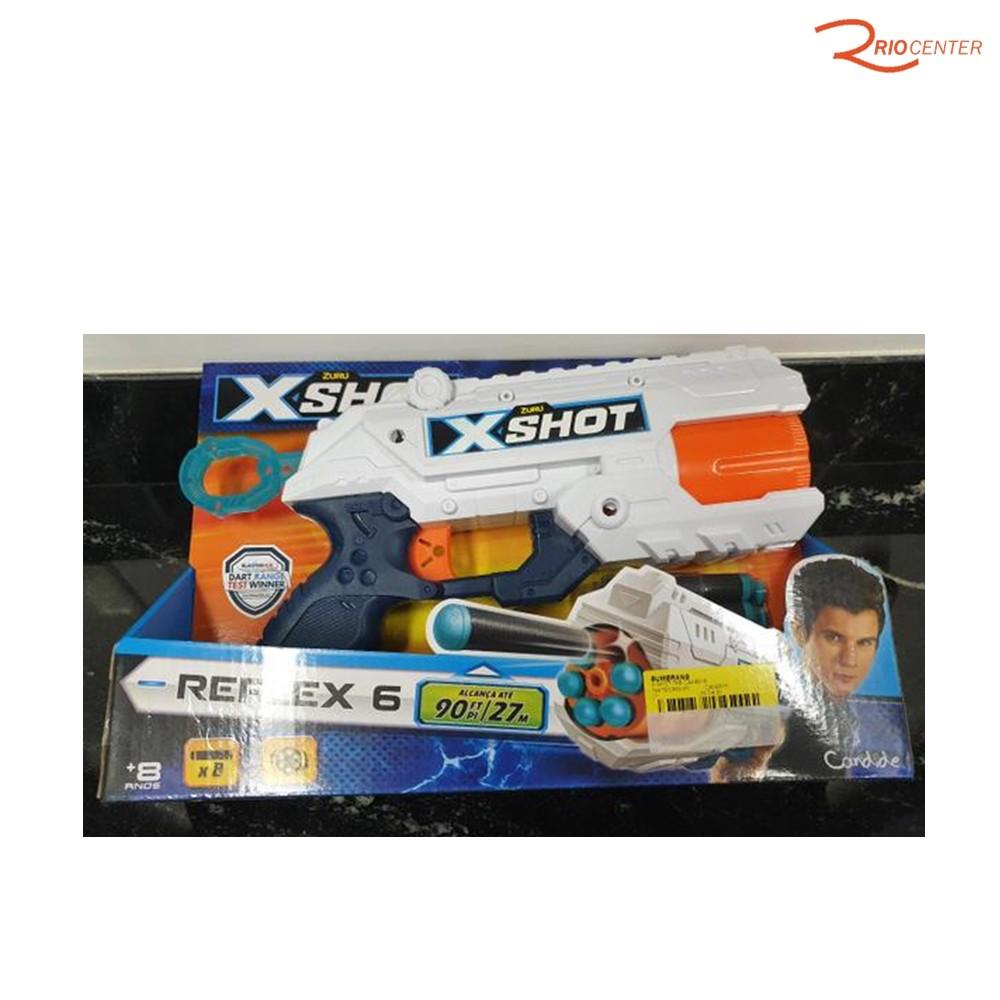 Brinquedo Lançador de Dardos Candide X-Short Reflex TK6 +8a