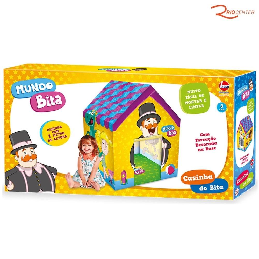 Brinquedo Lider Casinha do Mundo Bita +3a