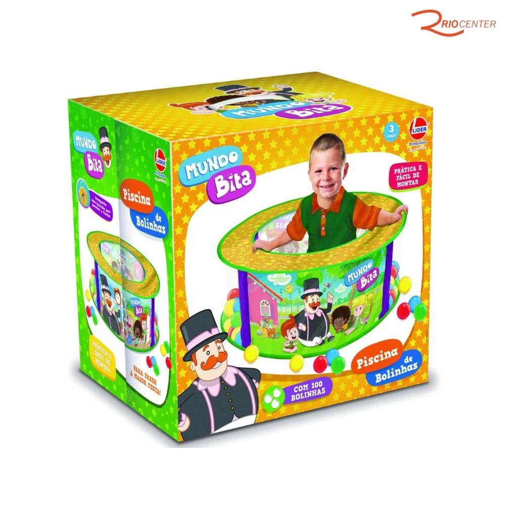Brinquedo Líder Piscina Mundo Bita +3a