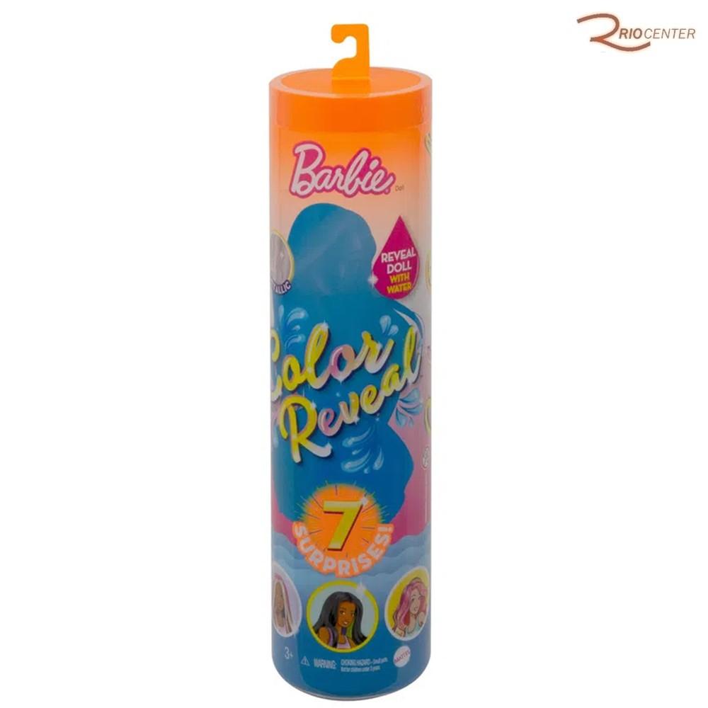 Brinquedo Mattel Barbie Color Reveal +3a