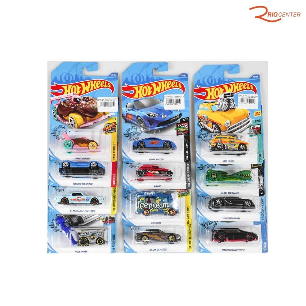 Brinquedo Mattel Carrinho Básico Hotwheels +3a