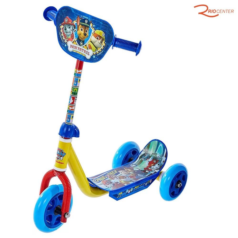 Brinquedo Mattel Patinete Patrulha Canina 3 Rodas +3a
