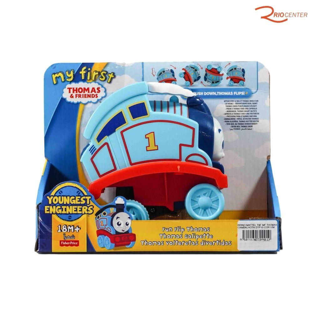Brinquedo Mattel T&F My First Thomas Cambalhota +18m