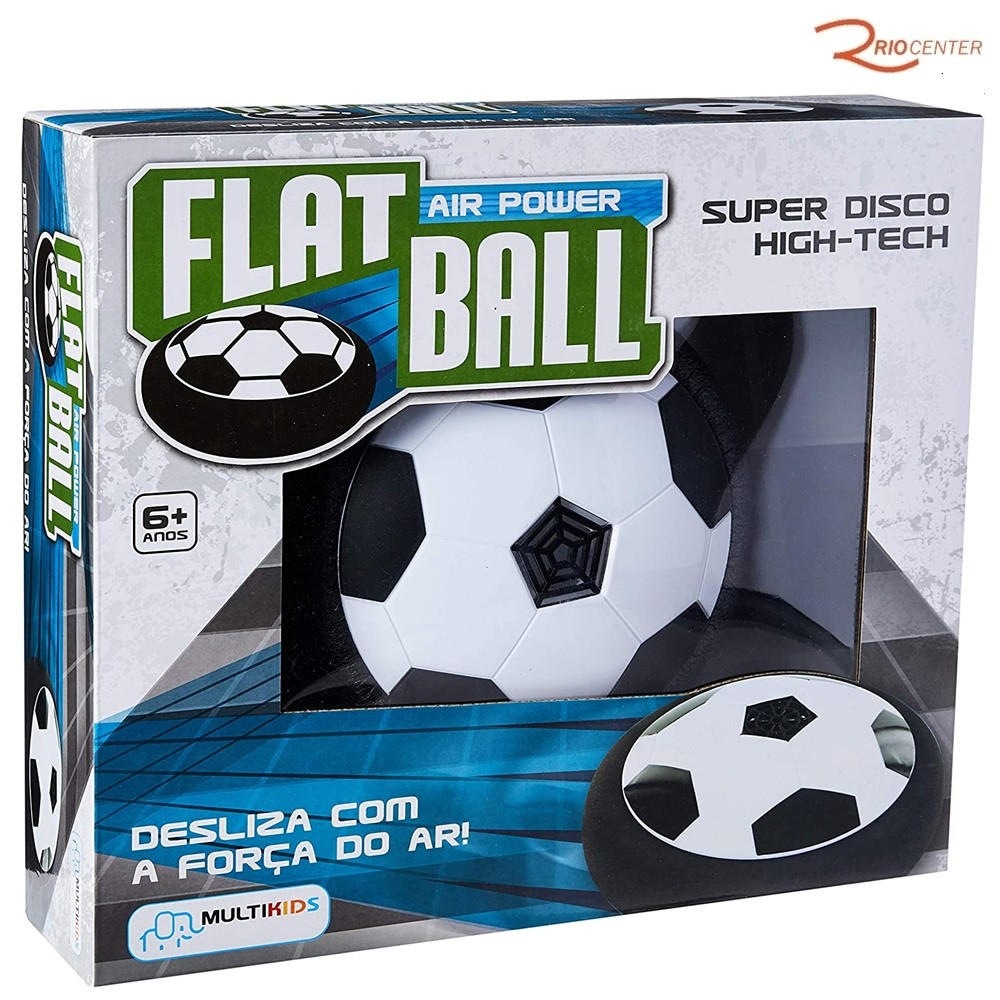 Brinquedo  Multikids Flat Ball Air Power +6a