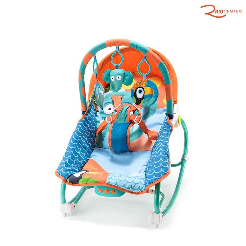 Brinquedo Multkids Baby Cadeira de Balanço Para Bebê +0m Até 20kg