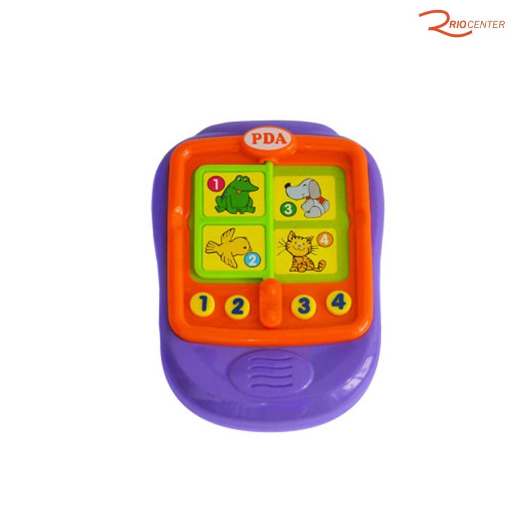 Brinquedo Multkids Baby Meu Primeiro Brinquedo PDA Interativo +6m
