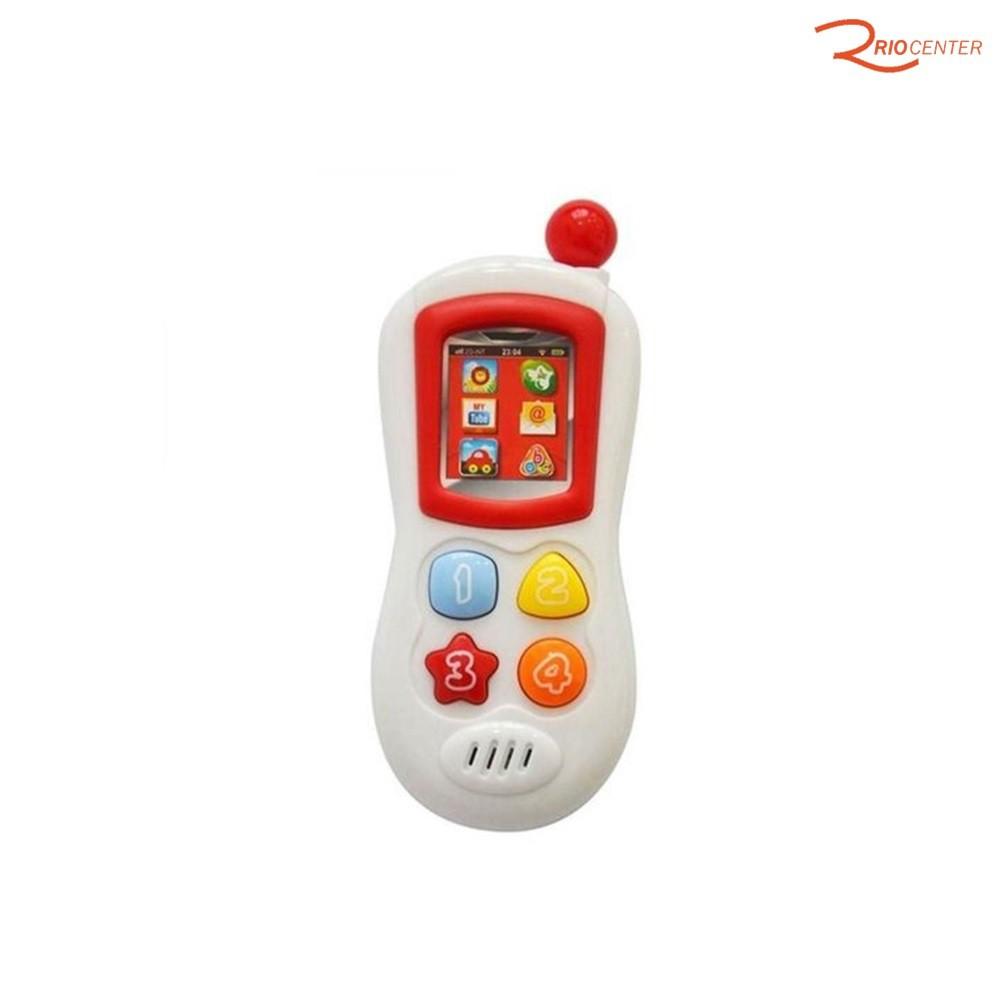 Brinquedo Multkids Baby Meu Primeiro Brinquedo Smartphone Interativo +6m