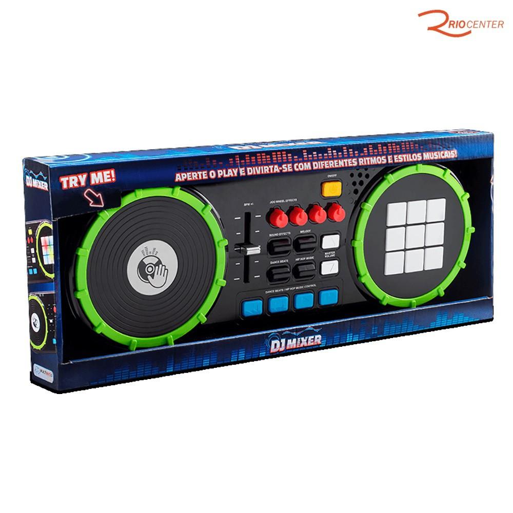 Brinquedo Multikids Baby DJ Mixer +4a