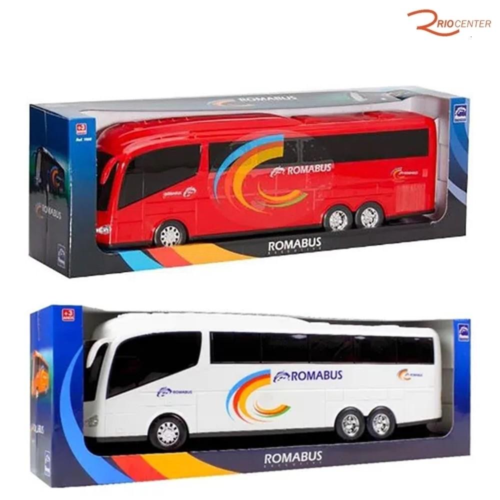 Brinquedo Ônibus Roma Romabus Executive +3a