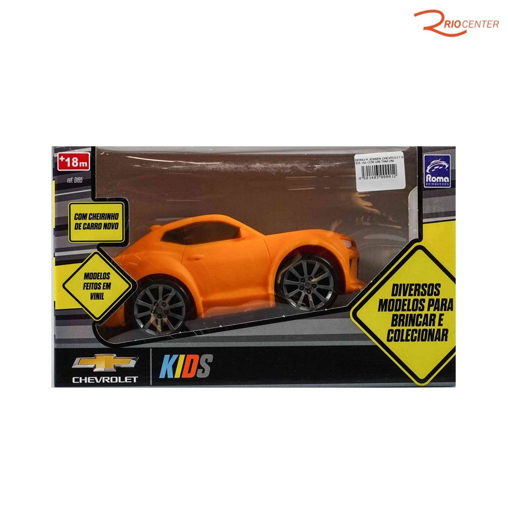 Brinquedo Roma Jensem Chevrolet Kids +18m