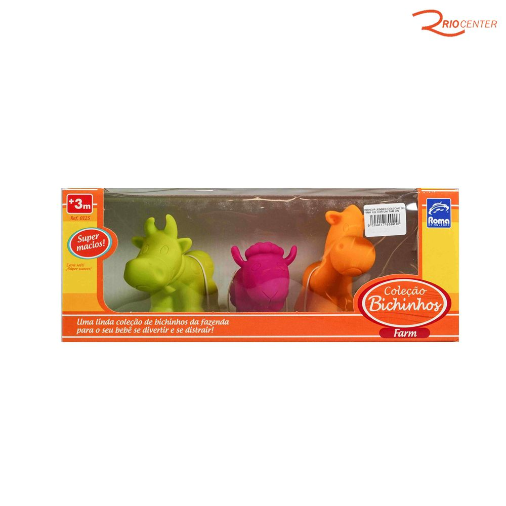 Brinquedo Roma Jensem Coleção Bichinho +3m