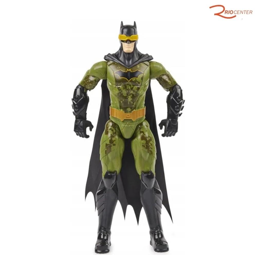 Brinquedo Sunny Batman Traje Furtivo Articulado Verde - 30cm +3a