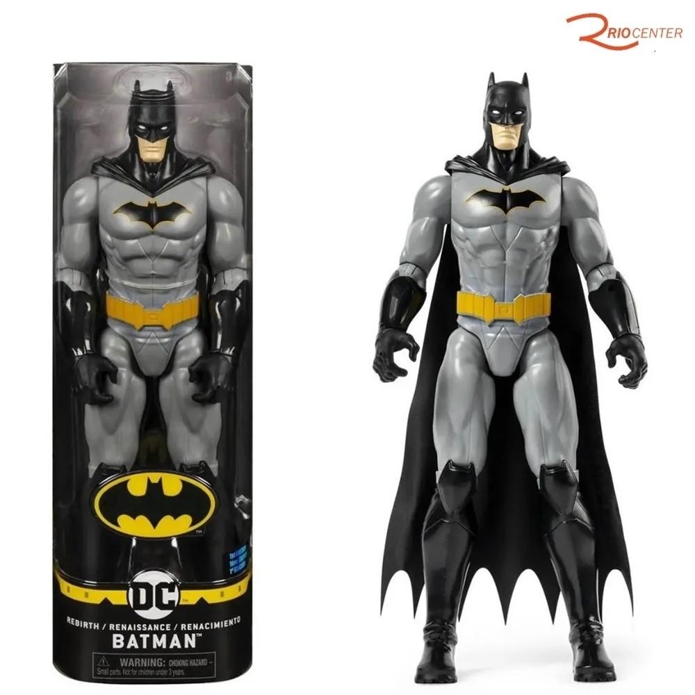 Brinquedo Sunny Batman Traje Simbolo Amarelo Articulado  - 30cm +3a