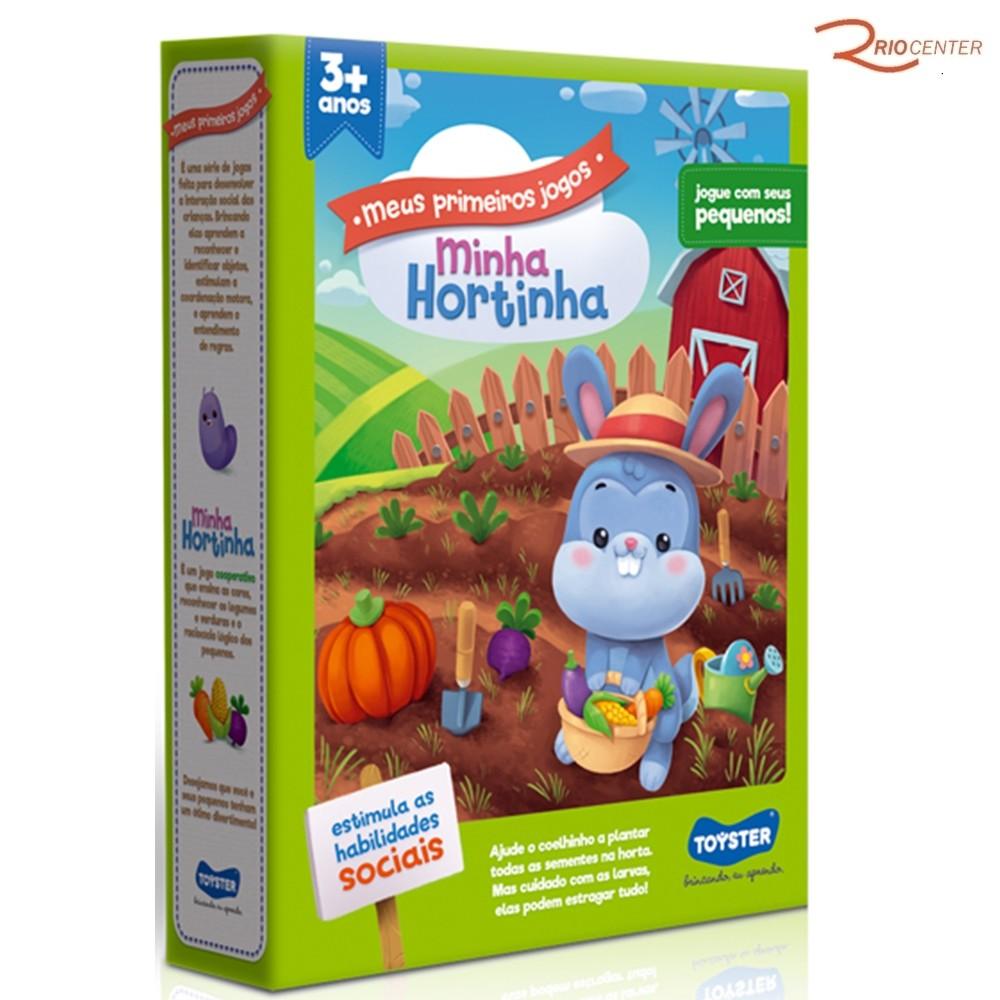 Brinquedo Toyster Jogo Minha Hortinha +3a