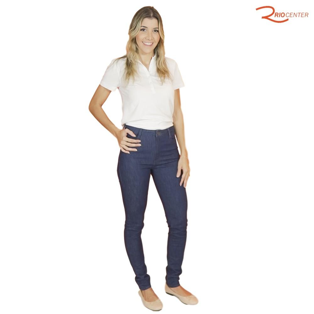 Calça Jeans Dudalina Skinny Cintura Média