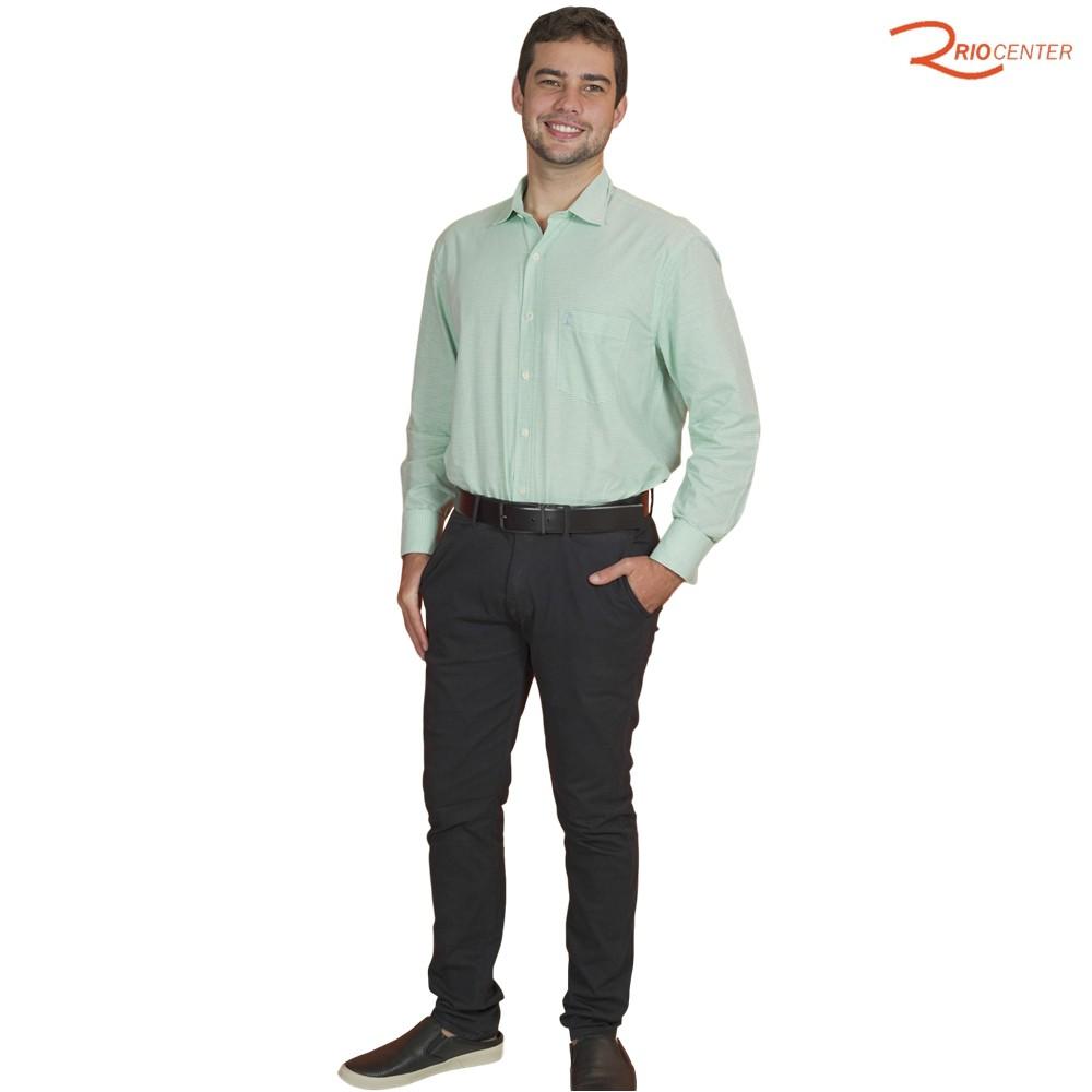 Camisa AD Manga Longa Polluxi Verde