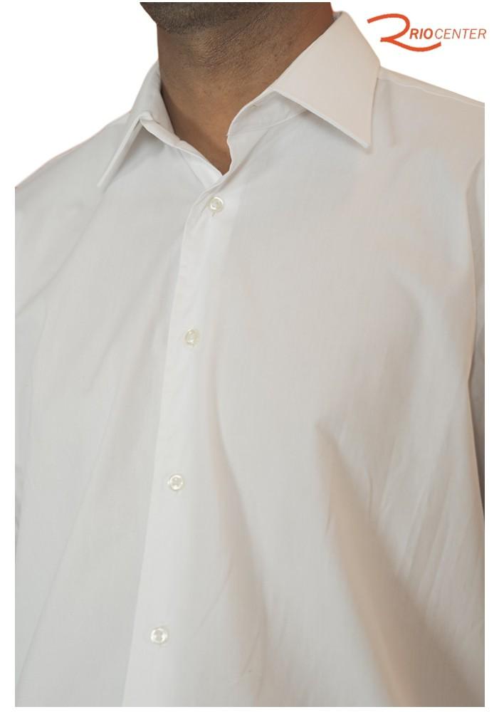 Camisa Fideli Manga Longa Sem Bolso Branca