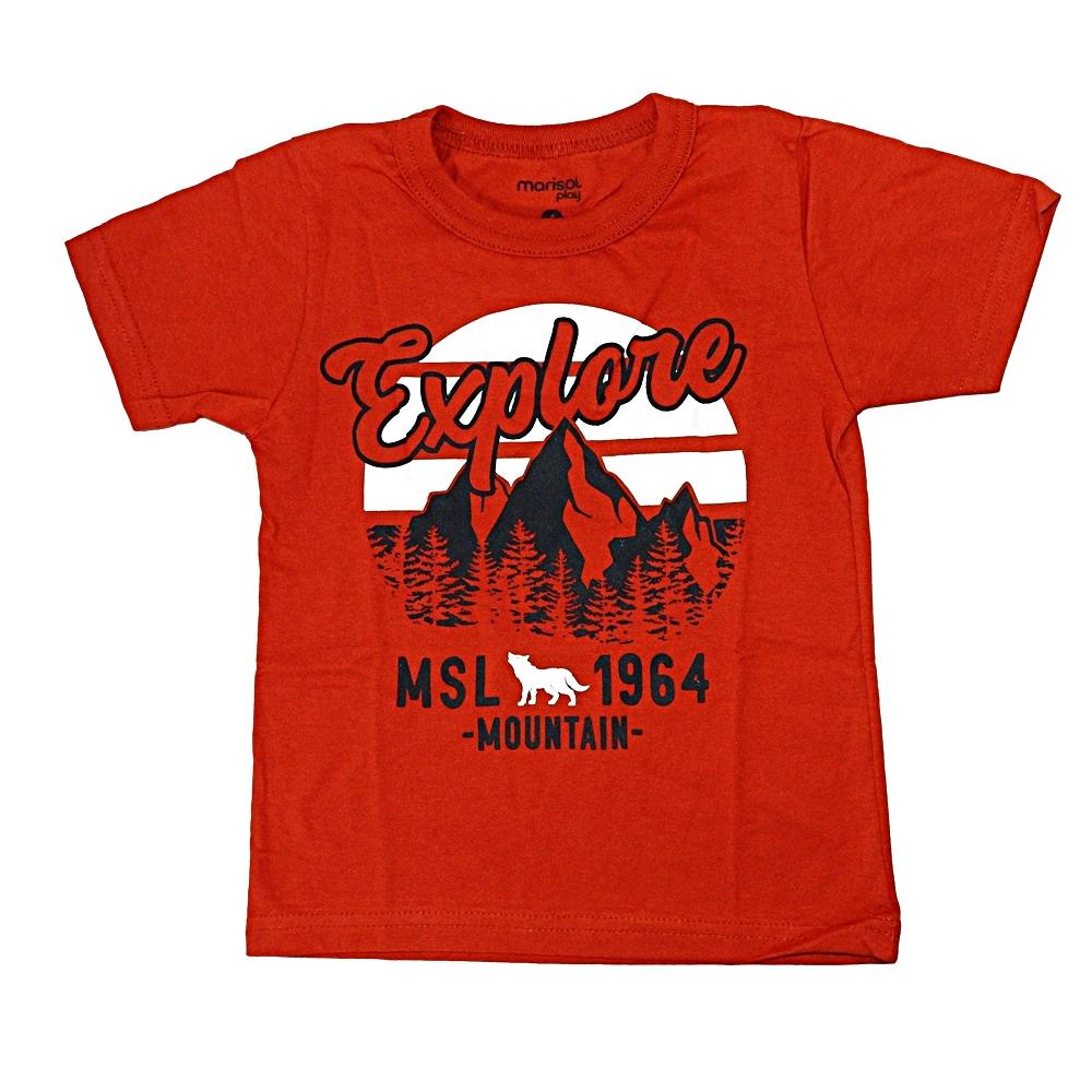 Camiseta Estampada Marisol Telha