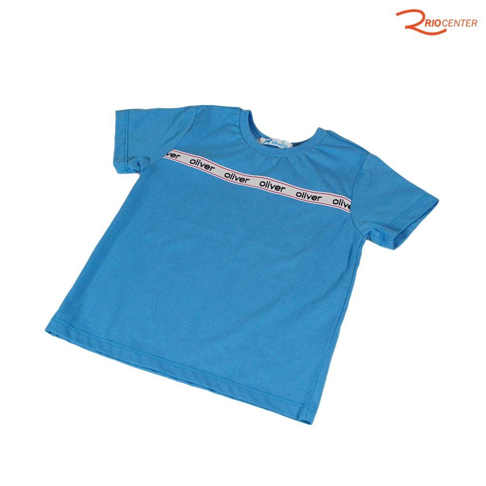 Camiseta Oliver Jr Básica Azul