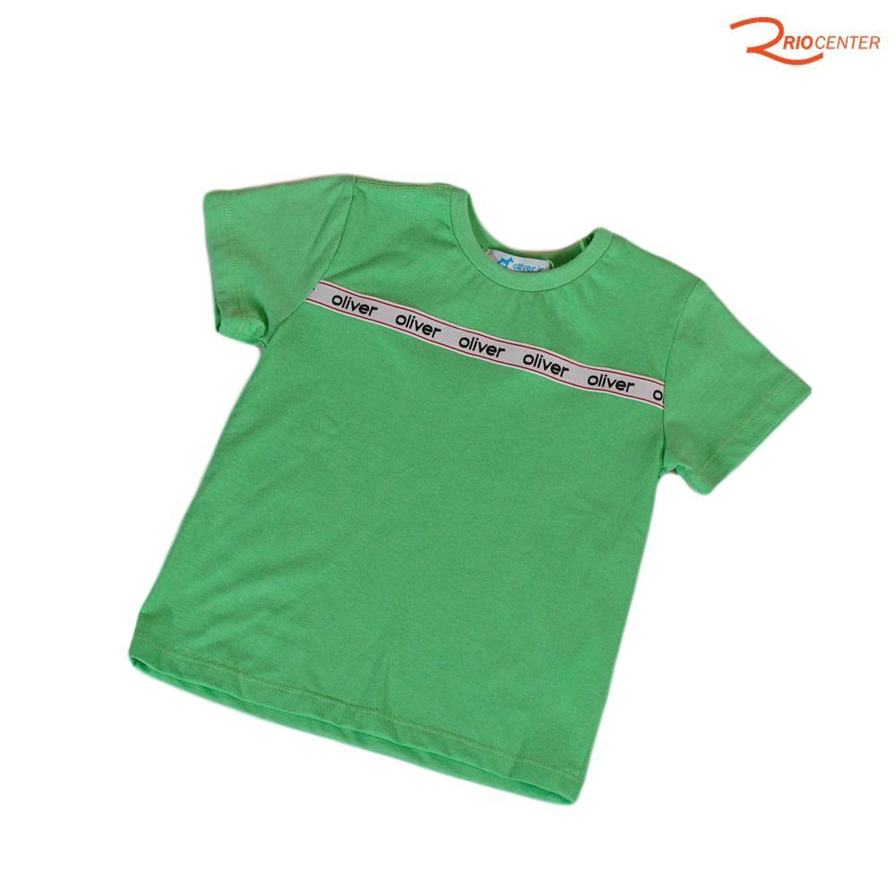 Camiseta Oliver Jr Básica Verde