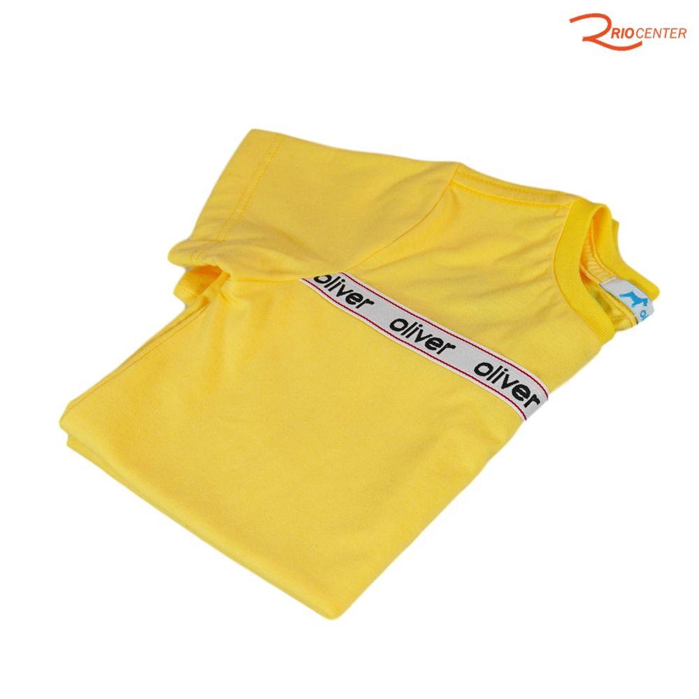 Camiseta Oliver Jr Básica Amarela