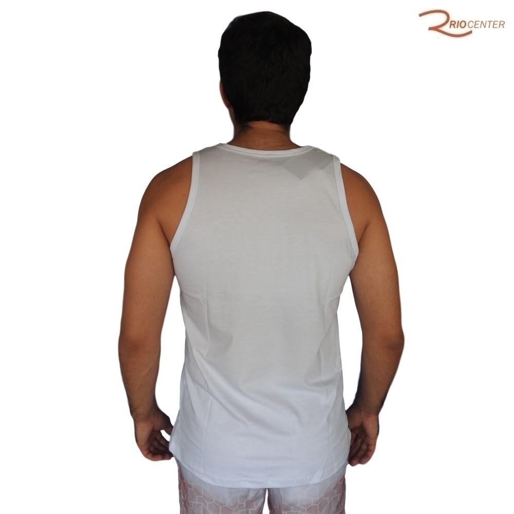 Camiseta Regata Saka Praia Branca