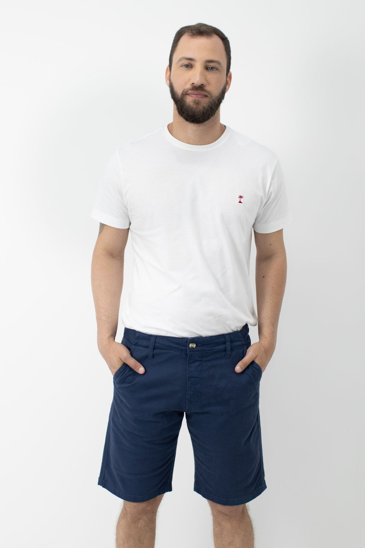 Camiseta Stone com Gola Careca AD Branca